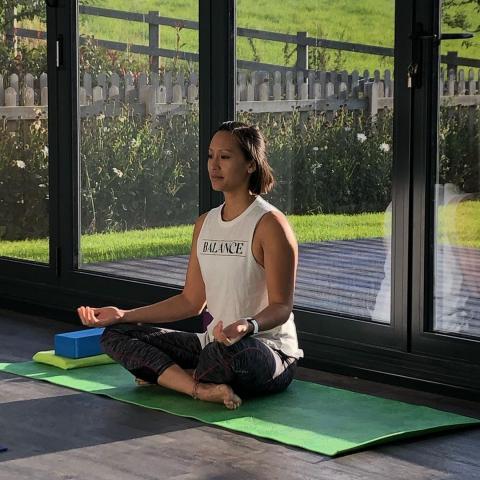 Online Adaptive Chair Based Yoga